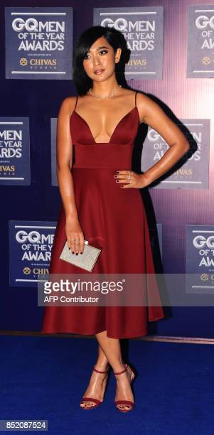 Indian Bollywood actress Sayani Gupta attends GQ India's ninth anniversary with the annual Men of the Year Awards 2017 in Mumbai on September 22 2017...