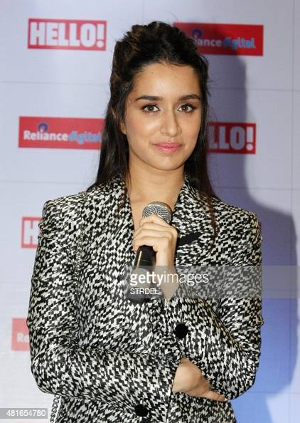 Indian Bollywood actress Shraddha Kapoor poses for a photograph during a promotional event for a magazine cover launch in Mumbai on July 23 2015 AFP...