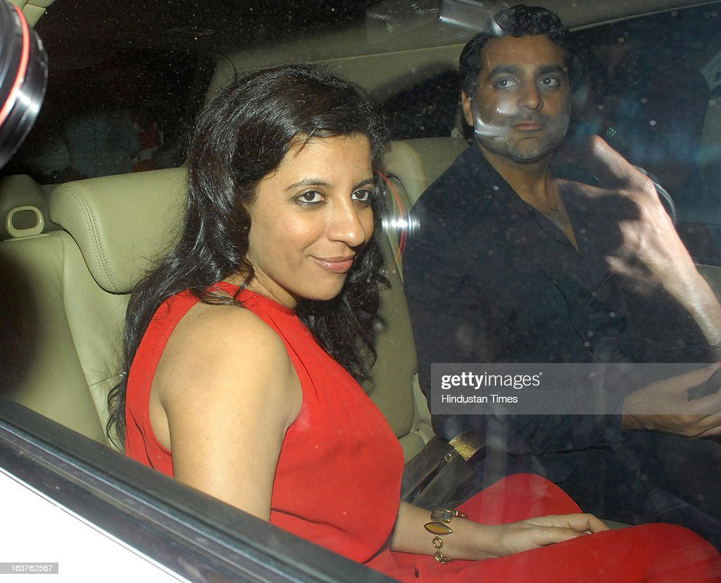 Indian Bollywood director Zoya Akhtar arriving for the Steven Spielberg's party which is organised by Anil Ambani, chairman of Anil Dhirubhai Ambani Group at Taj President, Cuffe Parade on March 12, 2013 in Mumbai, India. Spielberg is in India to celebrate the success of his film Lincoln, a co-production between his banner DreamWorks and Anil Ambani's Reliance Entertainment.