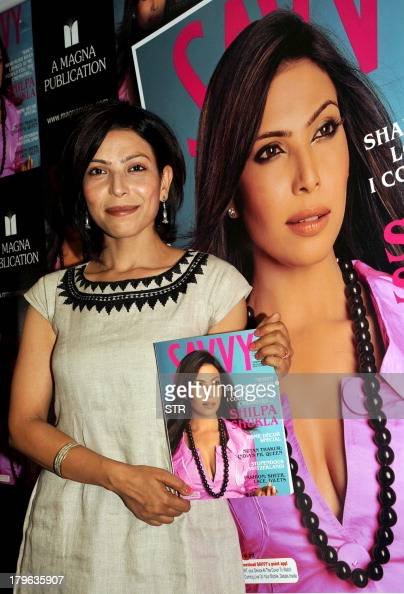 Indian Bollywood film actress Shilpa Shukla poses during the unveiling of the cover of 'Savvy' magazine in Mumbai on September 5 2013 AFP PHOTO