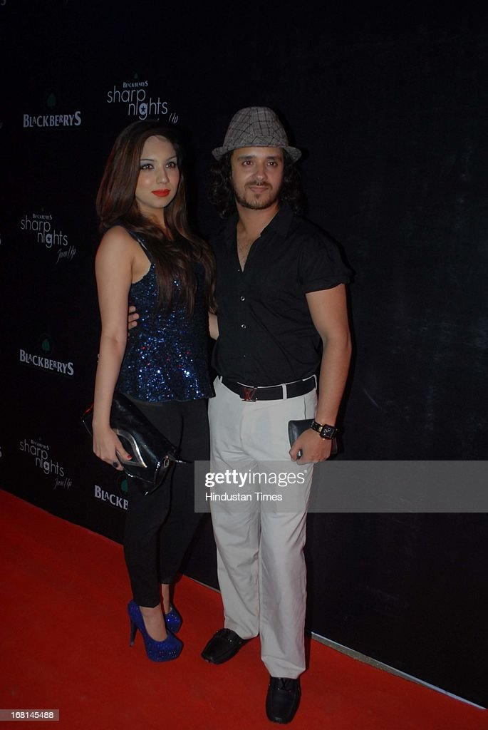 Indian Bollywood Singer Raghav Sachar during the Blackberrys Sharp Night Fashion Show at Mehboob studio, Bandra on May 3, 2013 in Mumbai, India. The Blackberrys Sharp Night is a fashion show organised by Blackberrys to showcase their new Summer/Spring collection.