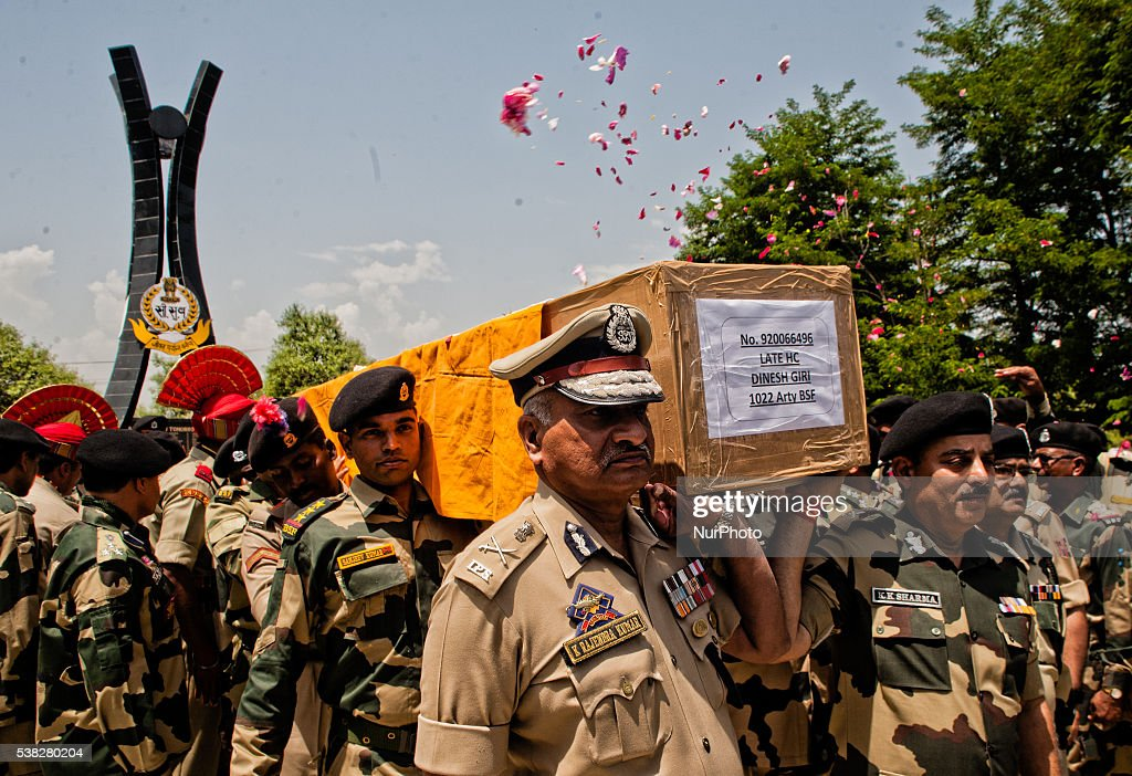 Wreath-Laying Ceremony Held For Indian Soldier Killed In ...
