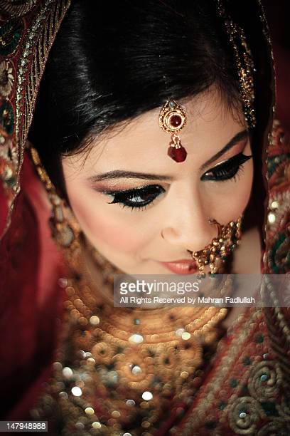 Indian bride with jewellaries