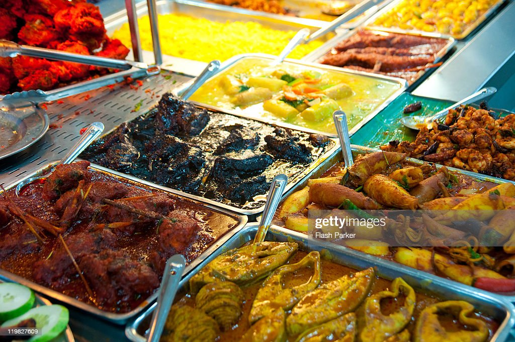 Indian buffet : Stock Photo