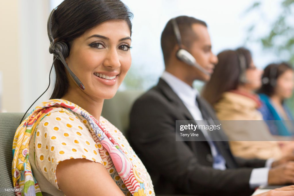 Indian business people working on office : Stock Photo