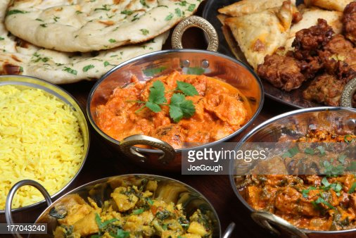 Indian Butter Chicken Curry : Stock Photo
