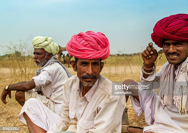 Indian camel traders in Pushkar India