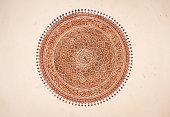 Indian Ceiling Mandala Mural