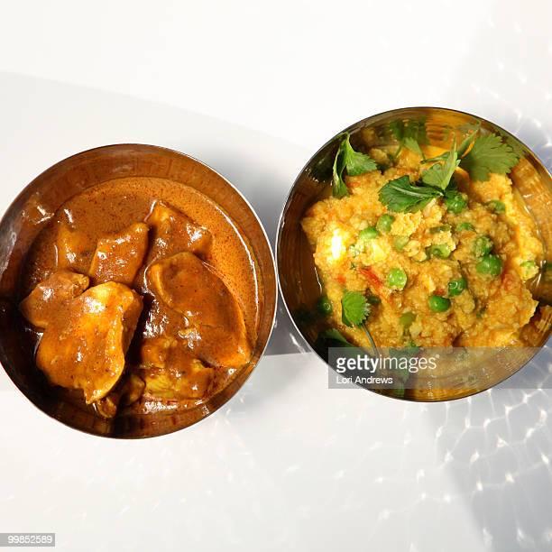 Indian Chicken Coconut Curry & Cauliflower Keema