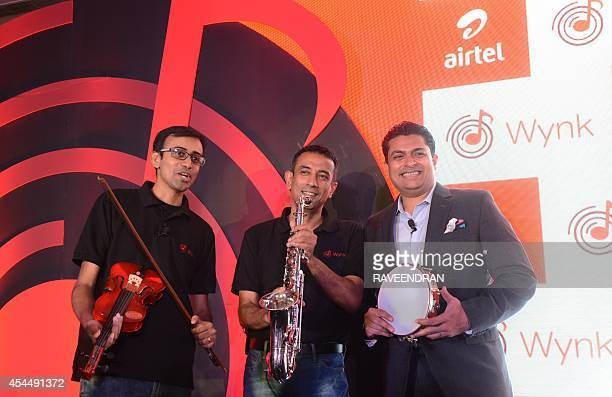 Indian Chief Product Officer for Bharti Airtel Telecommunications Anand Chandrasekaran Director for Consumer Business Srivasan Gopalan and Bharti...
