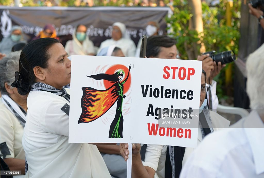 Indian Christians attend a peace protest in Ahmedabad on March 20 in the wake of the gangrape on an elderly nun An Indian state government West...