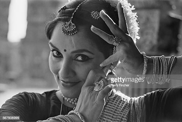 Indian classical dancer Indrani Rahman India 8th October 1967