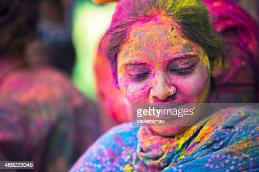 Indian colorful beautiful woman
