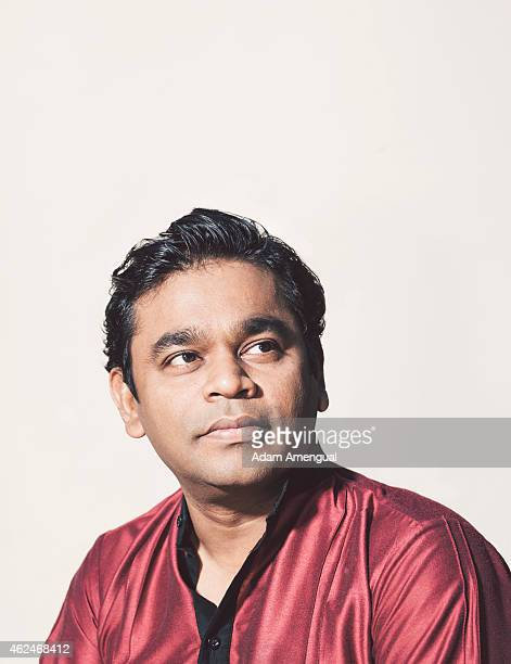 Indian composer A R Rahman is photographed for Variety on August 12 2014 in Los Angeles California