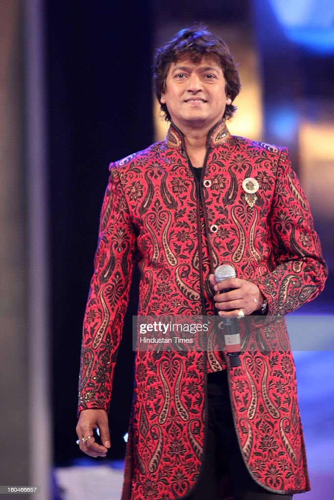 Indian composer and singer Aadesh Srivastava during Global Sound of Peace Concert and Album Launch at Andhery Sports Complex on January 30, 2013 Mumbai, India.