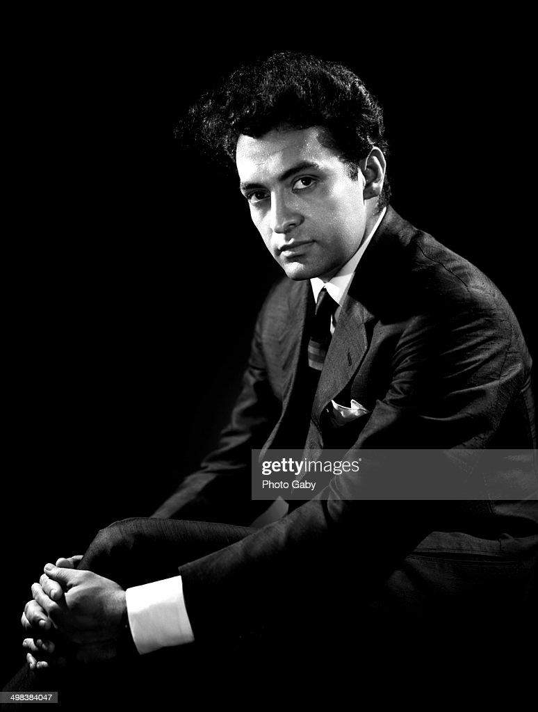Indian conductor Zubin Mehta, Montreal, Canada, 1963.