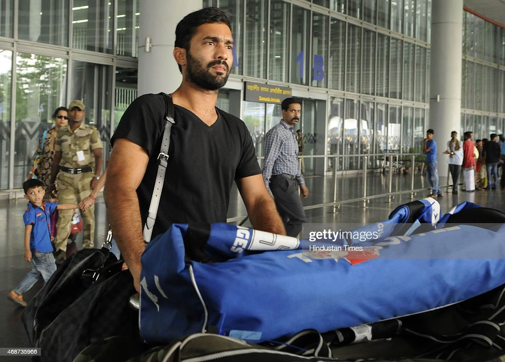 RCB Players Arrive At Kolkata For IPL Inaugural