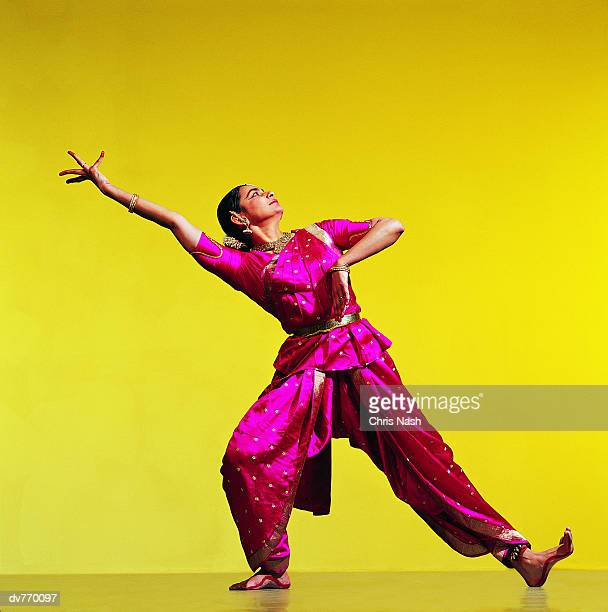 Indian Dancer With One Arm Raised