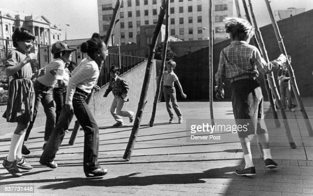 Indian dances around tepee frame is part of plains Indian class Some first tried disco steps Credit The Denver Post
