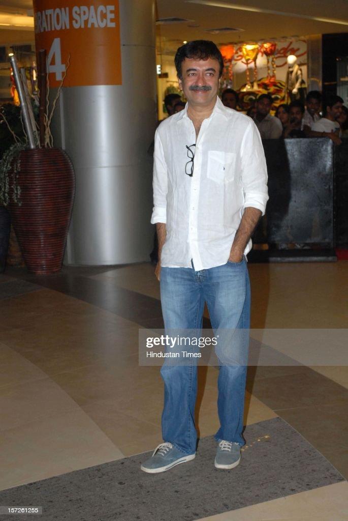 Indian director, screenwriter and film editor Rajkumar Hirani attending special screening of Film 'Talaash' at Phoenix Marketcity Mall, Kurla on November 29, 2012 in Mumbai, India.