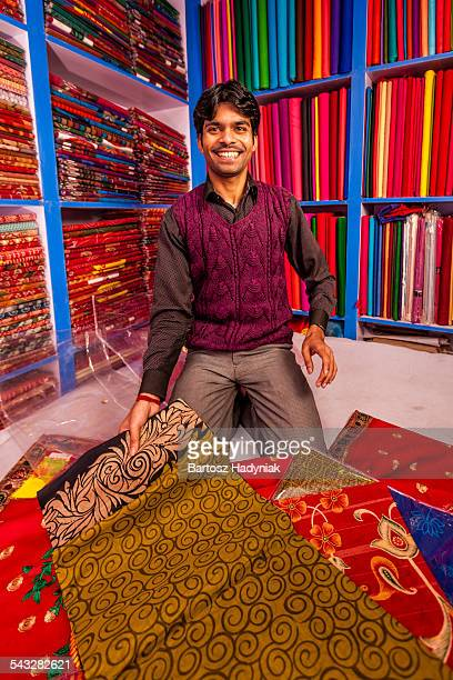 Indian fabric shop