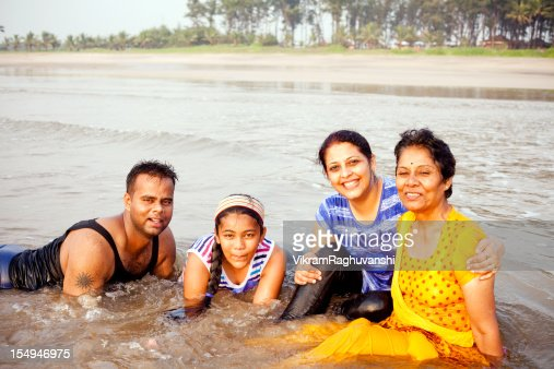 Indian family holiday stock photos and pictures getty images for Mother daughter vacation destinations