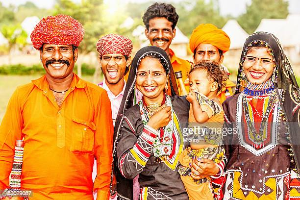 Indian Family Portrait
