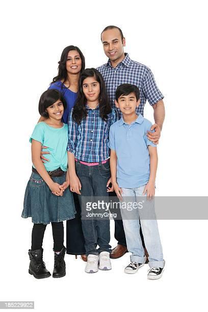 Indische Familien Portrait