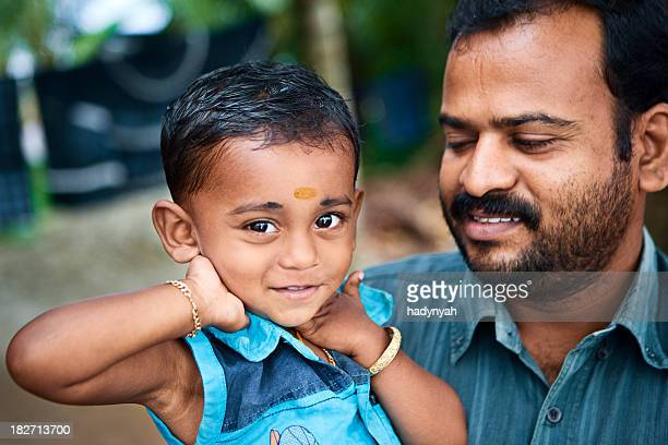 Indian father and his son