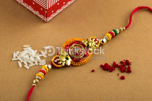 Indian Festival Raksha Bandhan Rakhi Stock Photo Thinkstock