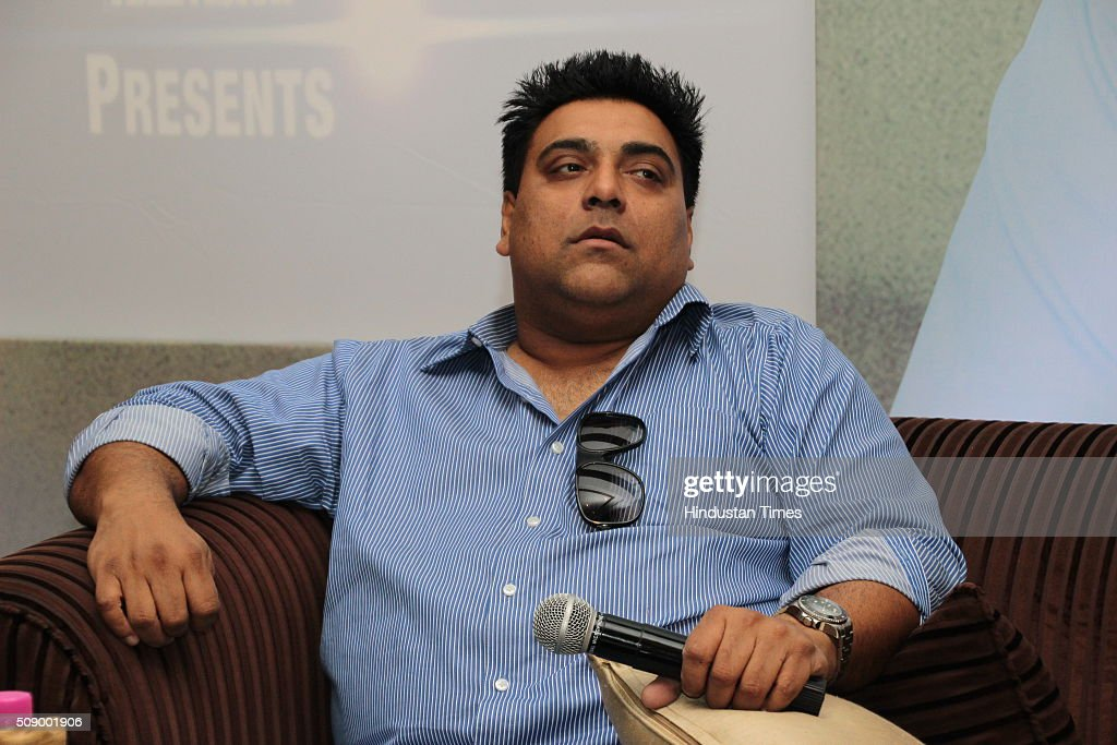 Indian film actor Ram Kapoor during an press conference of upcoming serial Dil ki baatein dil hi jaane at The Taj Mahal Hotel on March 18, 2015 in New Delhi, India.