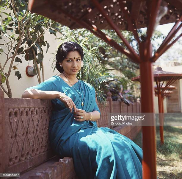 1985 Portrait Of Indian film actress Sharmila Tagore