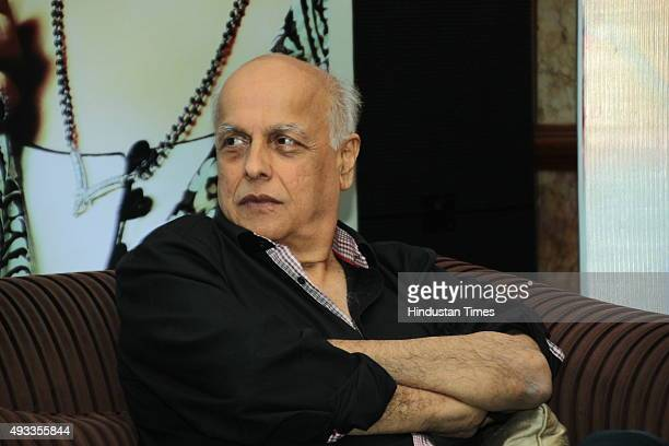 Indian Film Director Mahesh Bhatt during an exclusive interview with HT City Hindustan Times at The Taj Mahal Hotel on March 18 2015 in New Delhi...