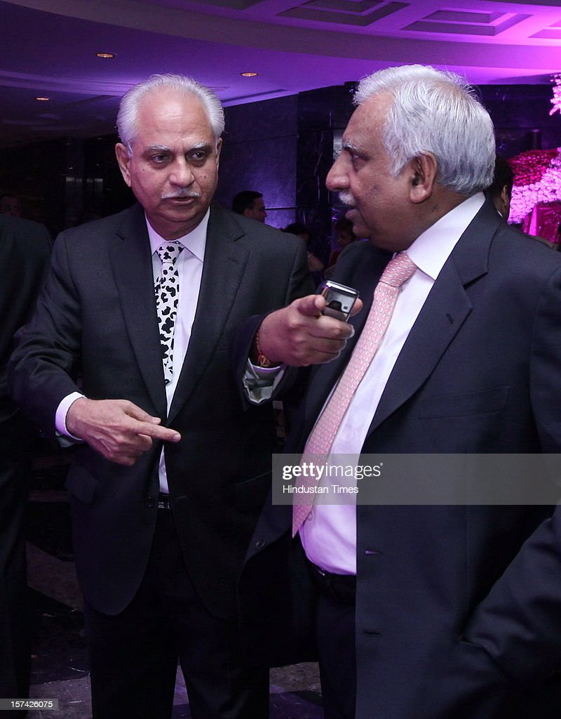 Indian film director Ramesh Sippy attending the marriage reception of YES Bank founder Rana Kapoor's daughter at Taj Palace on November 30, 2012 in New Delhi, India. Kapoor is the MD & CEO of YES Bank, which is the 4th largest private sector bank in the country.