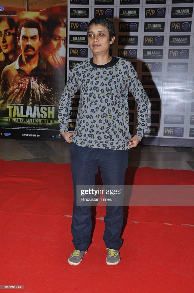 Indian film director Reema Kagti and also the director of the Talaash movie attending special screening of Film 'Talaash' at Phoenix Marketcity Mall, Kurla on November 29, 2012 in Mumbai, India.