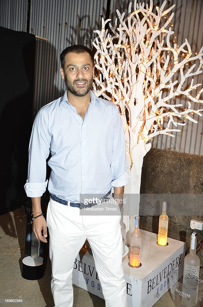 Indian filmmaker Abhishek Kapoor attending Special preview of Otlo Design project hosted by Belvedere Vodka at Bhavishyavani Backyard, Bandra on March 11, 2013 in Mumbai, India.