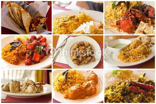 Collage de la cuisine indienne photo thinkstock - Cuisine indienne biryani ...