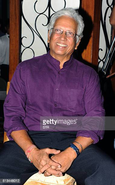 Indian former cricketer Mohinder Amarnath attends an event in honour of Bollywood music director and singer Anu Malik at 'The Pride of Industry'...