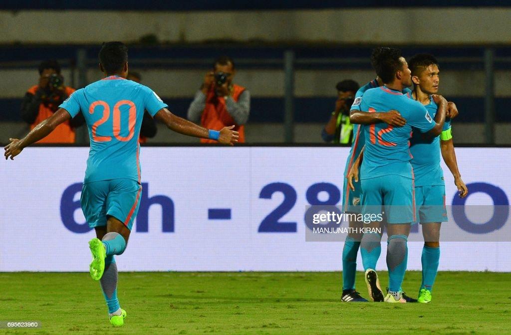 FBL-AFC-ASIAN CUP-2019-IND-KYG : News Photo