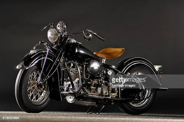 Indian four IOE inline four 1940 By Simon Clay