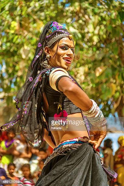 Indienne danse Hijra