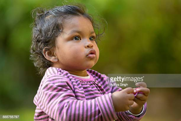 Indian infant baby girl