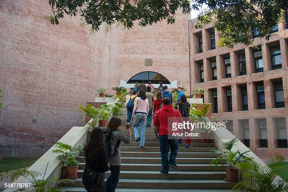 Indian Institute of Management of Ahmedabad made by Louis Kahn Gujarat India January of 2009