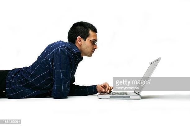 Indian Laptop Man