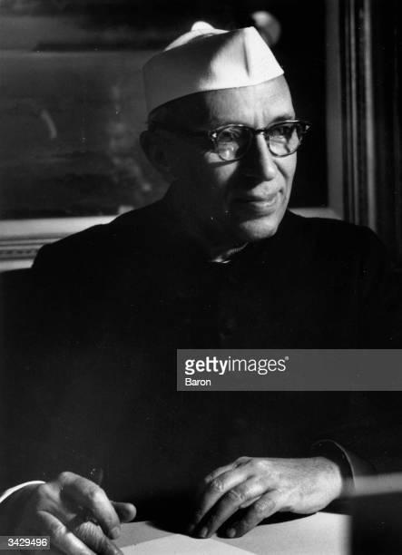 Indian leader Pandit Nehru