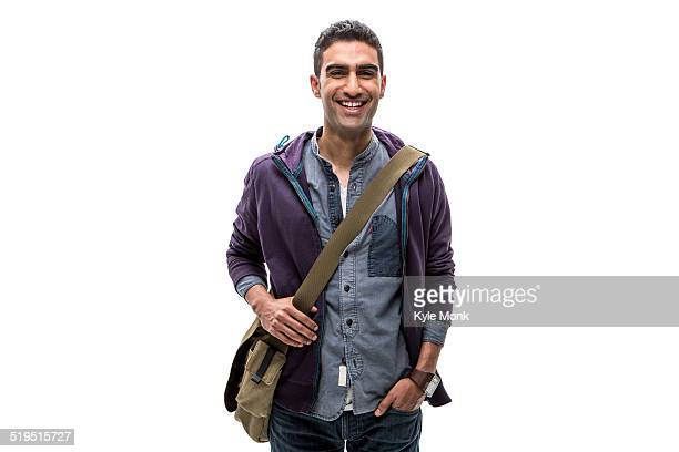 Indian man smiling