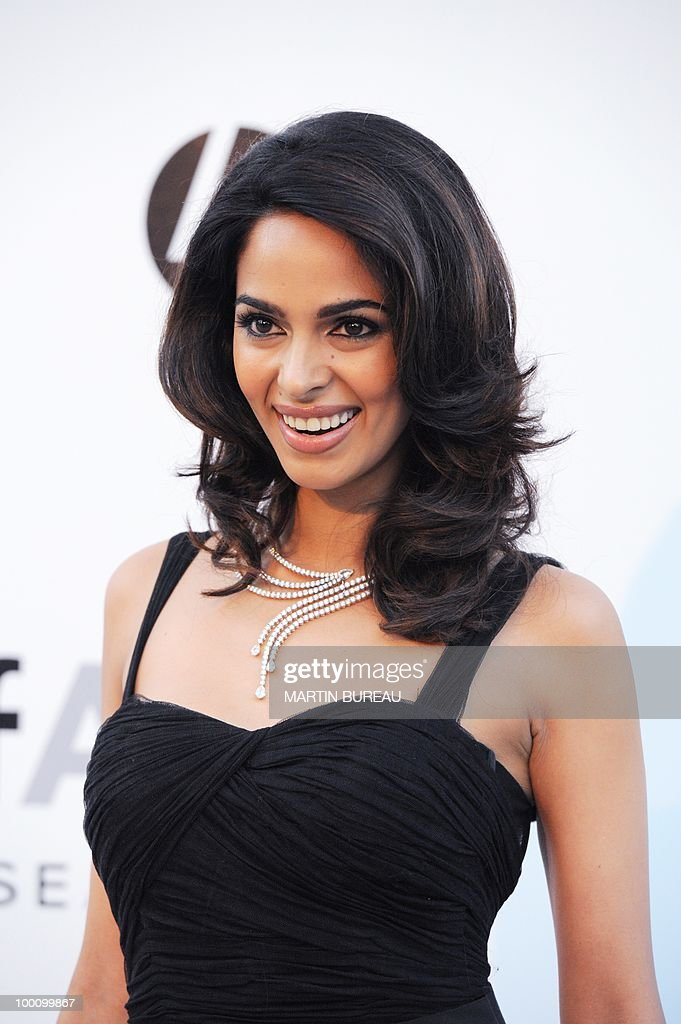 Indian model Mallika Sherawat arrives at