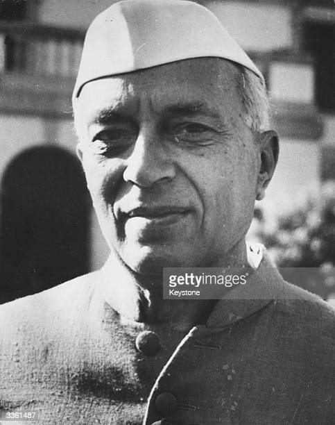 Indian nationalist leader and first prime minister of independent India Jawaharlal Nehru