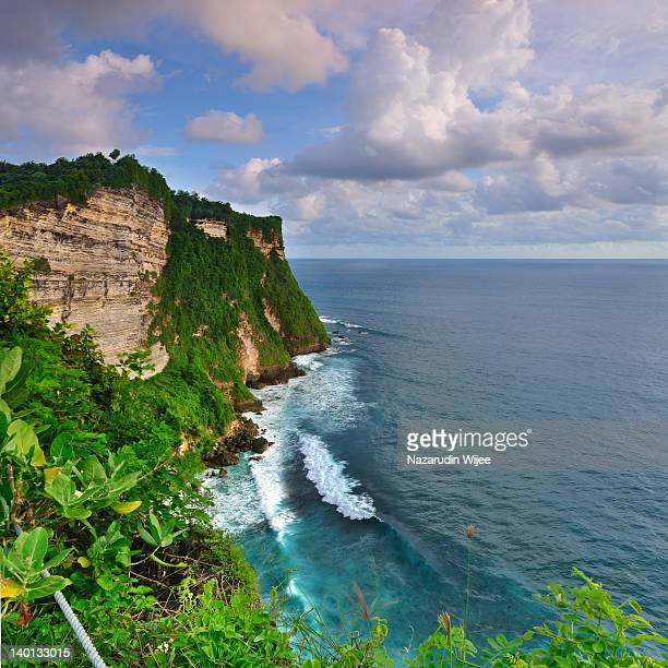 Indian Ocean from Uluwatu Bali