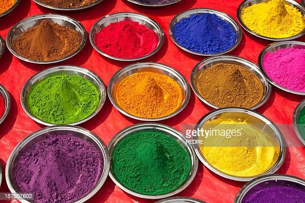 Couleur peinture indienne